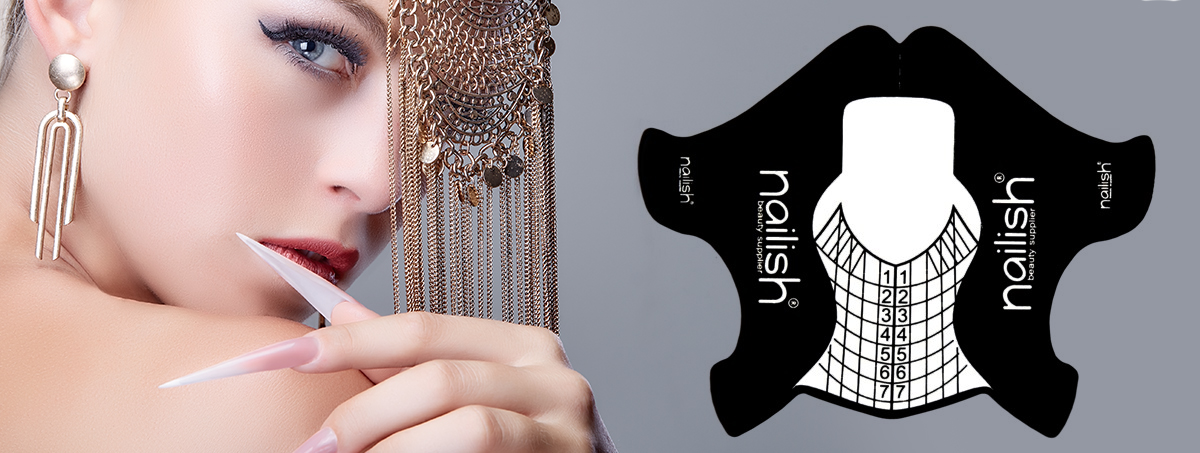 new Nailish Nail Form Ideal for salon poses