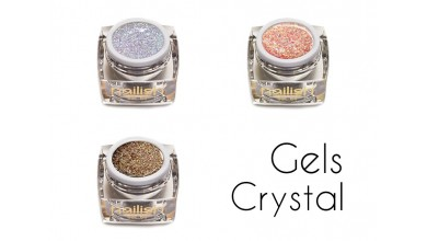 New Crystal Gels gel uv vernis polish semi permanent ongles, prothésiste ongulaire et nail art technician